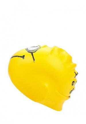 Шапочка для плавания TYR. Цвет: желтый