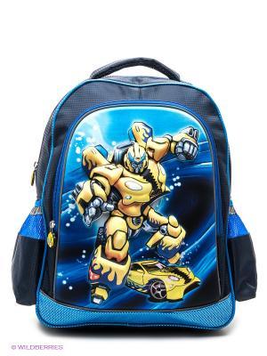 Рюкзак ROBOT Centrum. Цвет: темно-синий, желтый