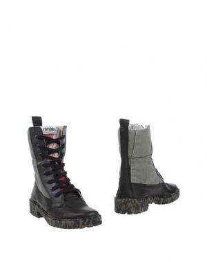 Полусапоги и высокие ботинки SPRINGA. Цвет: свинцово-серый