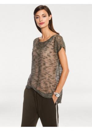 Пуловер RICK CARDONA by Heine. Цвет: телесный