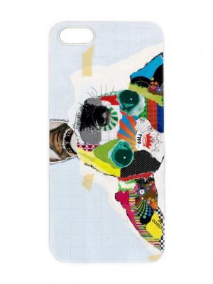 Чехол для iPhone 5/5s Той-терьер Chocopony. Цвет: белый, черный