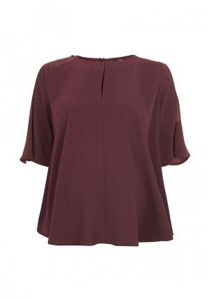 Блуза Topshop Maternity. Цвет: бордовый