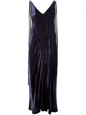 Платье Marisa Attico. Цвет: синий