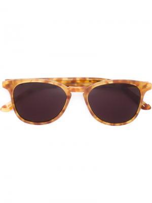 Солнцезащитные очки Olivier Krewe Du Optic. Цвет: коричневый