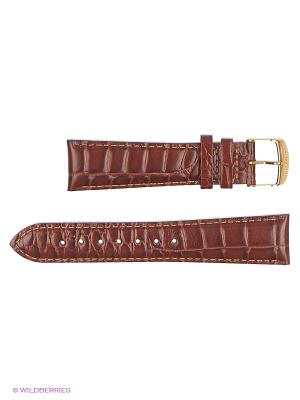 Ремень д/часов, кожа итальянский крой J.A. Willson. Цвет: светло-коричневый