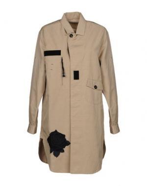 Легкое пальто PENCE. Цвет: бежевый