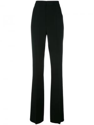 Расклешенные брюки кроя слим Dsquared2. Цвет: чёрный