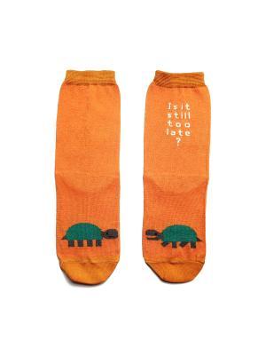 Носки Big Bang Socks. Цвет: оранжевый