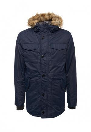 Куртка утепленная Staff Jeans & Co.. Цвет: синий