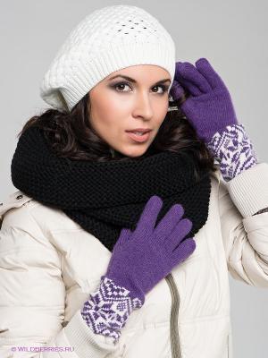 Пеpчатки Modo. Цвет: фиолетовый