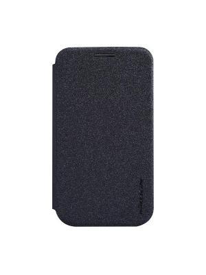 Чехол-книжка для LG L40 (D170) Sparkle Leather Case Nillkin. Цвет: черный