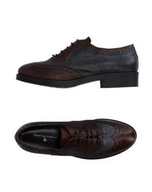 Обувь на шнурках SETTANTATRE LR. Цвет: темно-коричневый