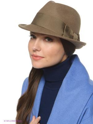 Шляпа SEEBERGER. Цвет: темно-коричневый, бронзовый