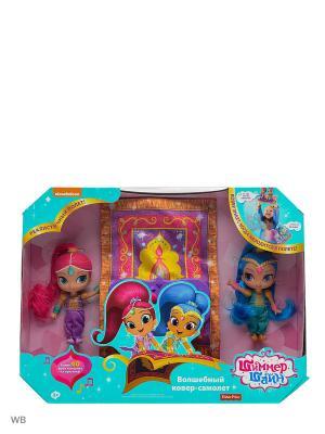 Волшебный ковер-самолет Shimmer&Shine Mattel. Цвет: синий