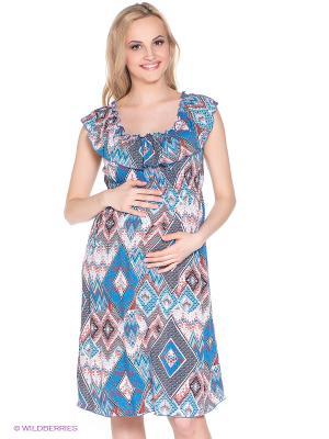 Платье для беременных 40 недель. Цвет: голубой, красный, черный