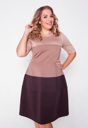 Платье Eliseeva Olesya. Цвет: разноцветный