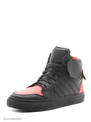 Ботинки VIVIAN ROYAL. Цвет: черный, красный