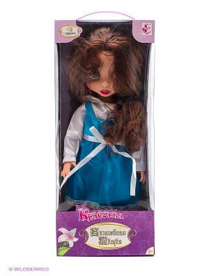 Красотка кукла 40 см, со звуковыми эффектами 1toy. Цвет: прозрачный