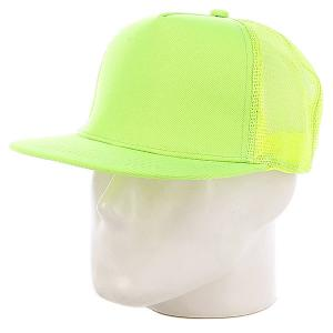 Бейсболка с сеткой Truespin Combo Trucker, White-navy-yellow, O/s. Цвет: зеленый