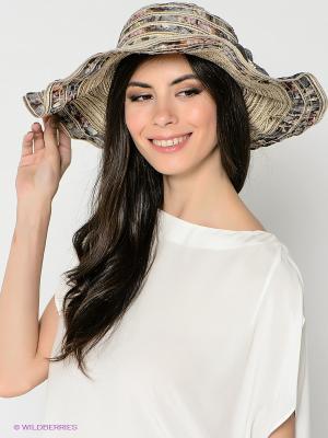 Шляпа FOMAS. Цвет: бежевый, синий