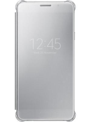 Чехол ClVCover A710 для Galaxy A7 (EF-ZA710CSEGRU) Samsung. Цвет: серый