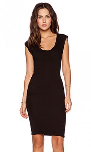 Платье muscle Pam & Gela. Цвет: черный