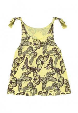 Платье КотМарКот. Цвет: желтый