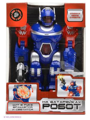 Робот Играем вместе. Цвет: синий, серый, красный