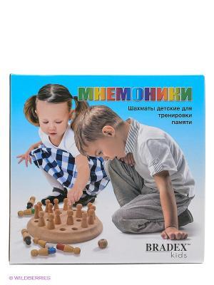 Шахматы для тренировки памяти МНЕМОНИКИ BRADEX. Цвет: светло-коричневый