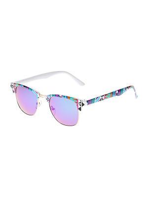 Очки солнцезащитные Infiniti. Цвет: белый, синий, бирюзовый, голубой, розовый