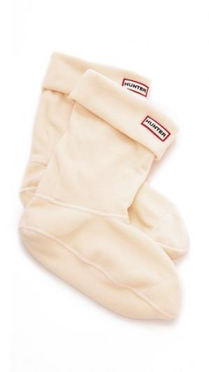 Короткие носки под ботинки Hunter Boots. Цвет: золотой