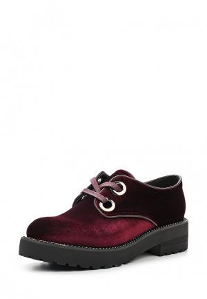 Ботинки Elche. Цвет: бордовый