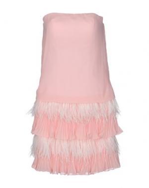 Короткое платье MUSANI COUTURE. Цвет: розовый