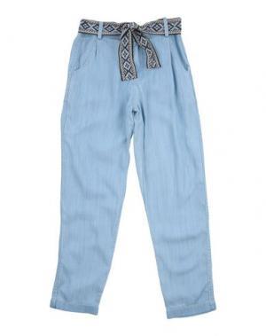 Повседневные брюки SWILDENS. Цвет: синий