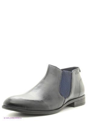 Ботинки S.OLIVER. Цвет: темно-синий