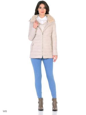 Куртка Oltre. Цвет: светло-бежевый