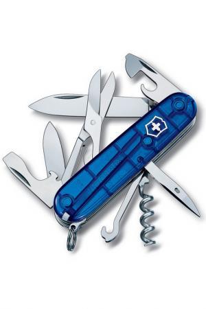 Нож перочинный 14 функций Victorinox. Цвет: синий