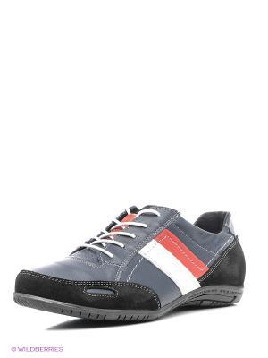 Ботинки Walrus. Цвет: синий, черный