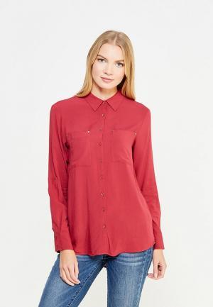 Рубашка Top Secret. Цвет: бордовый