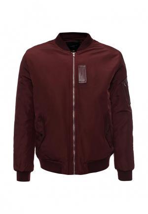Куртка утепленная Sweewe. Цвет: бордовый