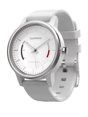 Умные часы vivomove Sport белый cо спортивным браслетом GARMIN. Цвет: белый