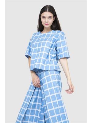 Кюлоты Futur Outfit. Цвет: голубой