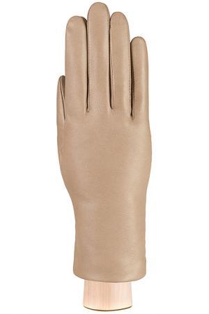 Перчатки Eleganzza. Цвет: светлый серо-коричневый