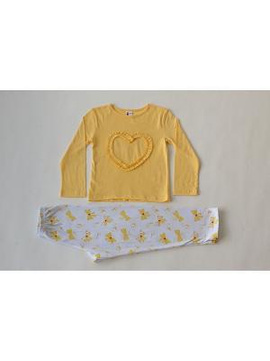 Пижама Iota. Цвет: желтый