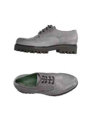 Обувь на шнурках WEXFORD. Цвет: свинцово-серый