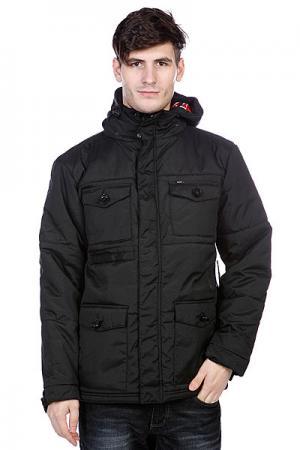 Куртка зимняя  Nice And Cozy Jacket Black Enjoi. Цвет: черный
