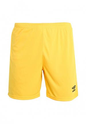 Шорты спортивные Umbro. Цвет: желтый