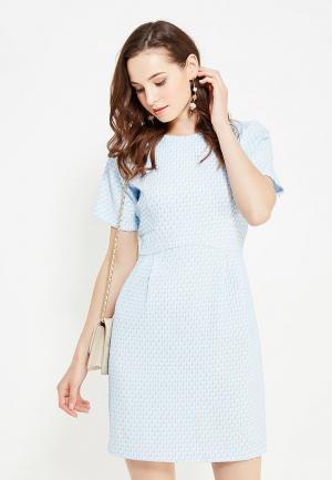 Платье Cocos. Цвет: голубой