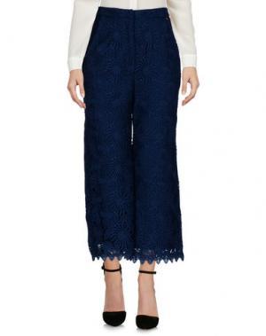 Повседневные брюки NAUGHTY DOG. Цвет: темно-синий
