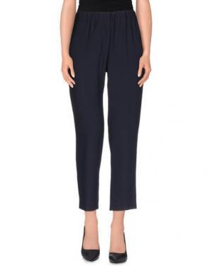 Повседневные брюки N_8. Цвет: темно-синий